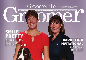 Groomer to Groomer Magazine cover